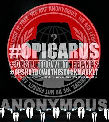 アノニマスによる OpIcarus 2016(Phase 2,3) メモ