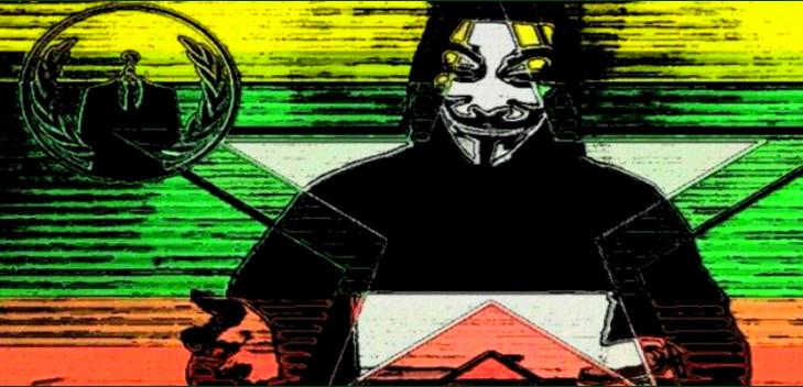 Anonymousによるオペレーション #OpMyanmar メモ